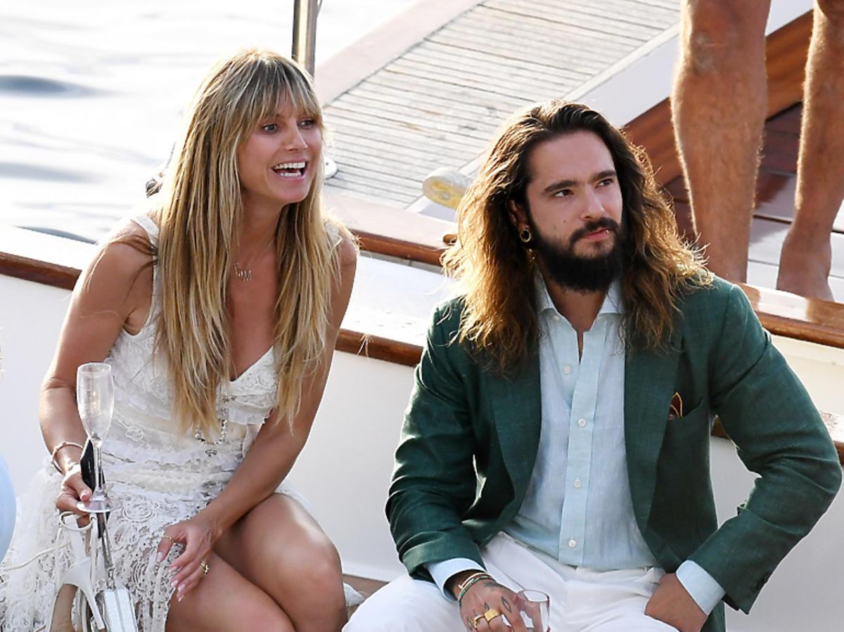 Ślub Heidi Klum i Toma Kaulitza w okolicach wyspy Capri na południu Włoch