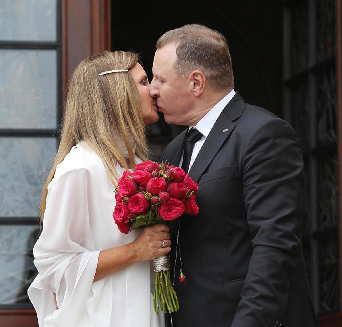 Ślub Jacka Kurskiego i Joanny Kurskiej