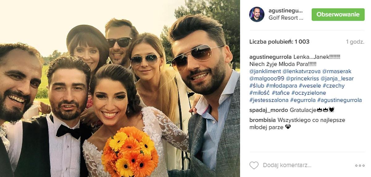 Ślub Jana Klimenta - zdjęcia