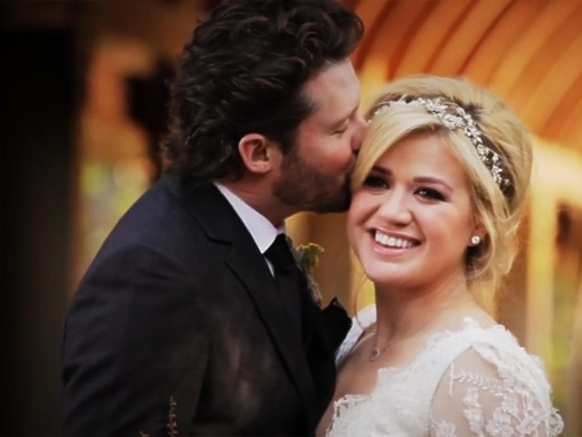 Ślub Kelly Clarkson i Brendona Blackstocka
