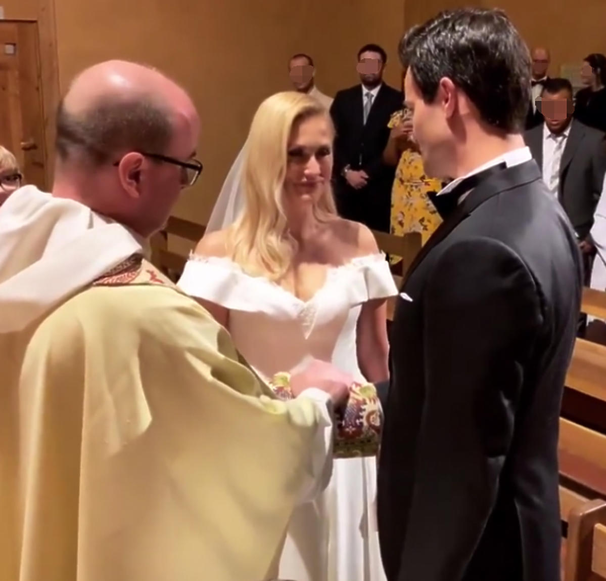 ślub Krawczyka i Juszczak