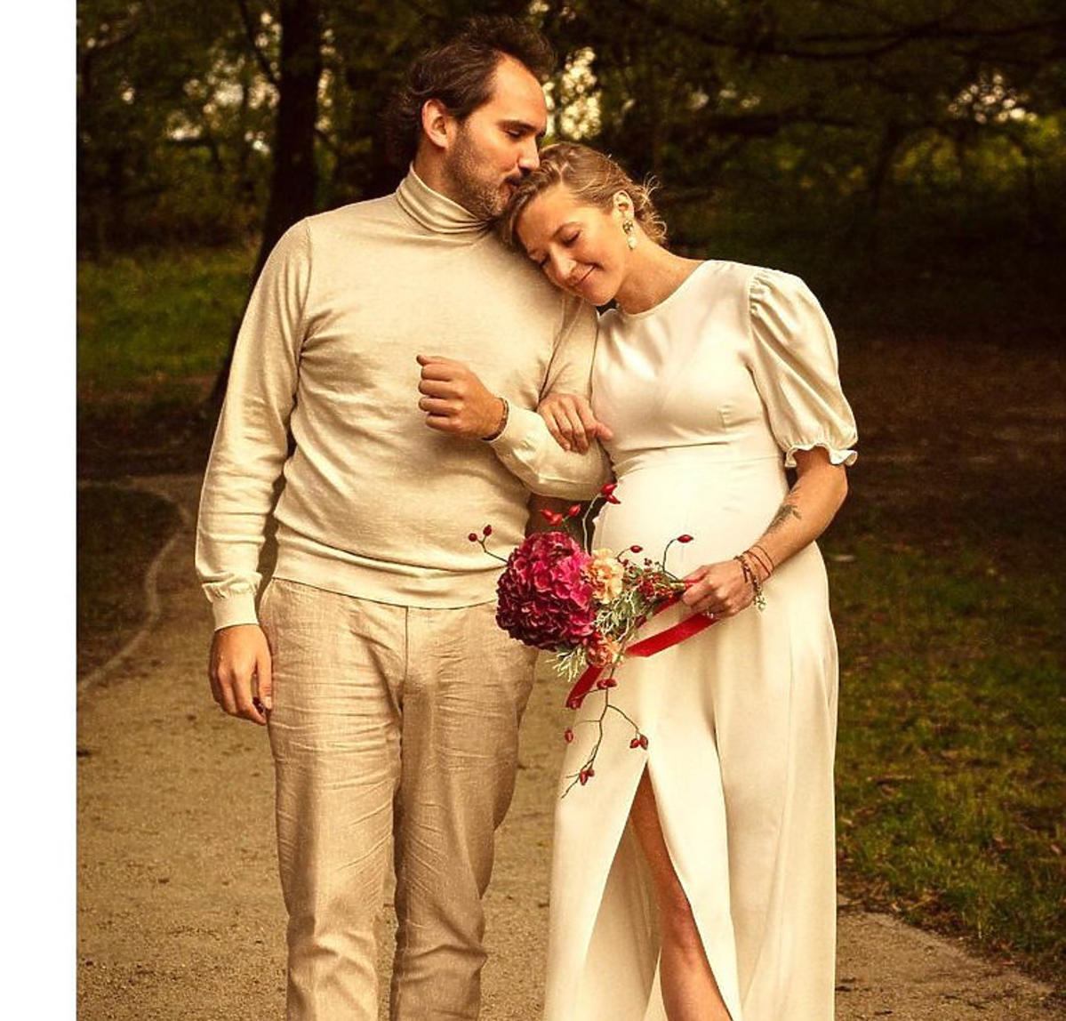 Ślub Lary Gessler i Piotra
