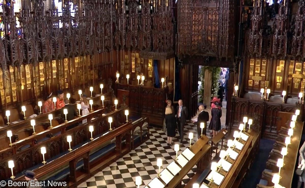 Ślub Meghan Markle i księcia Harry'ego  - kaplica w Windsorze