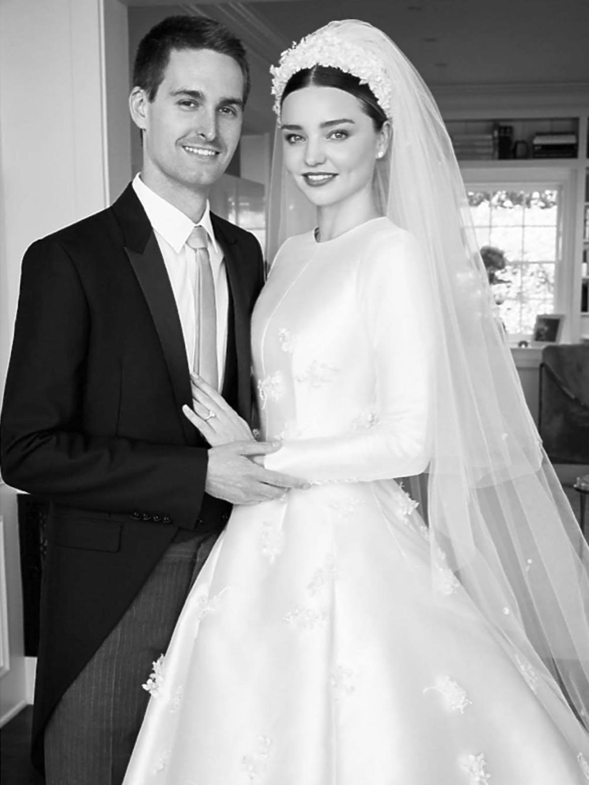Ślub Mirandy Kerr i Evana Spiegela