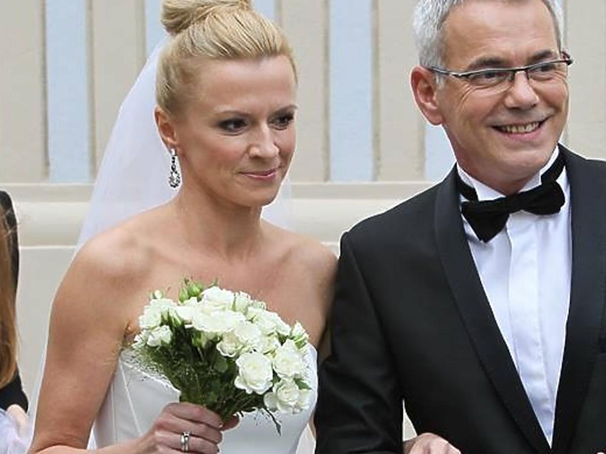 Ślub Roberta Janowskiego i Moniki Głodek