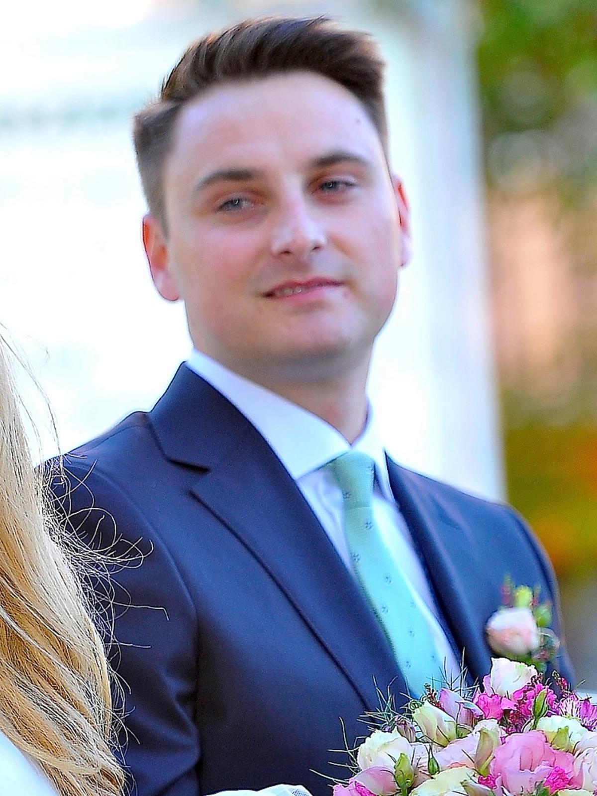 Ślub Rozalii Mancewicz i Marcina Jaworskiego. Zdjęcia ze ślubu Mancewicz. Mąż Mancewicz