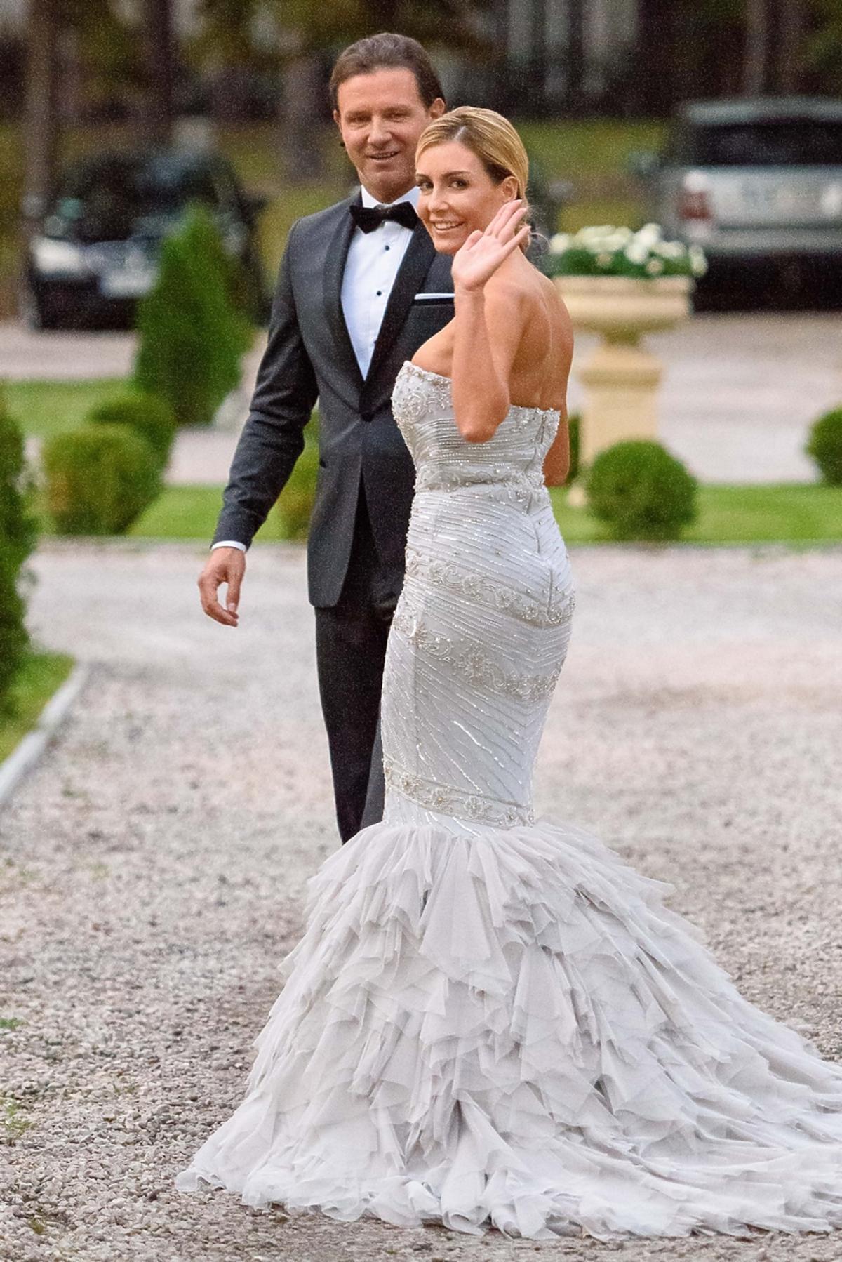Ślub Rozenek i Majdana - zdjęcia