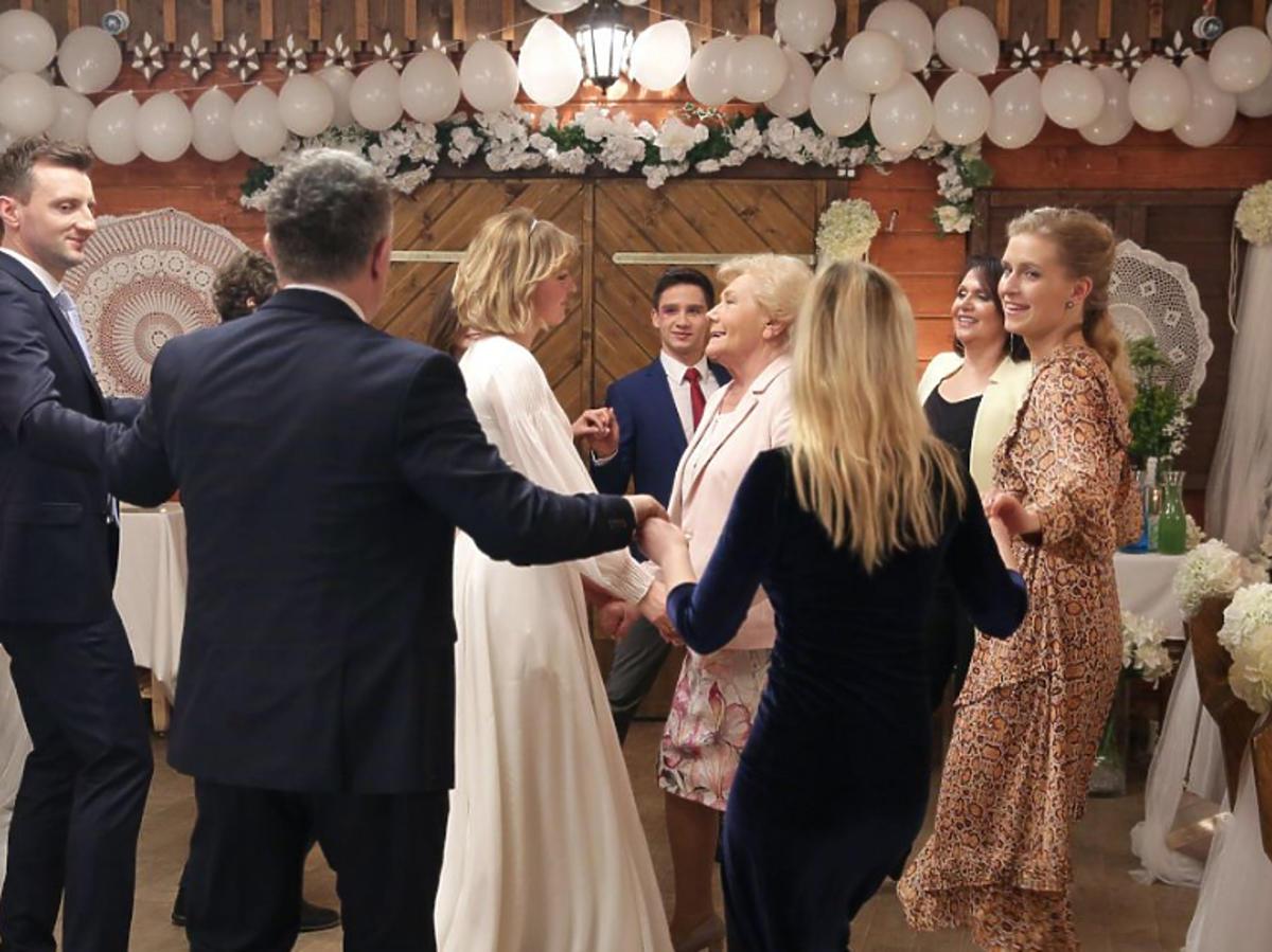 Ślub Uli i Bartka w M jak miłość