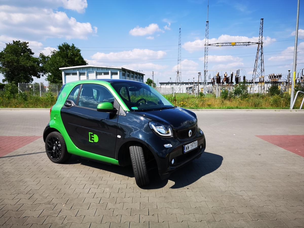 Smart ForTwo Electric Drive, test dziennikarski