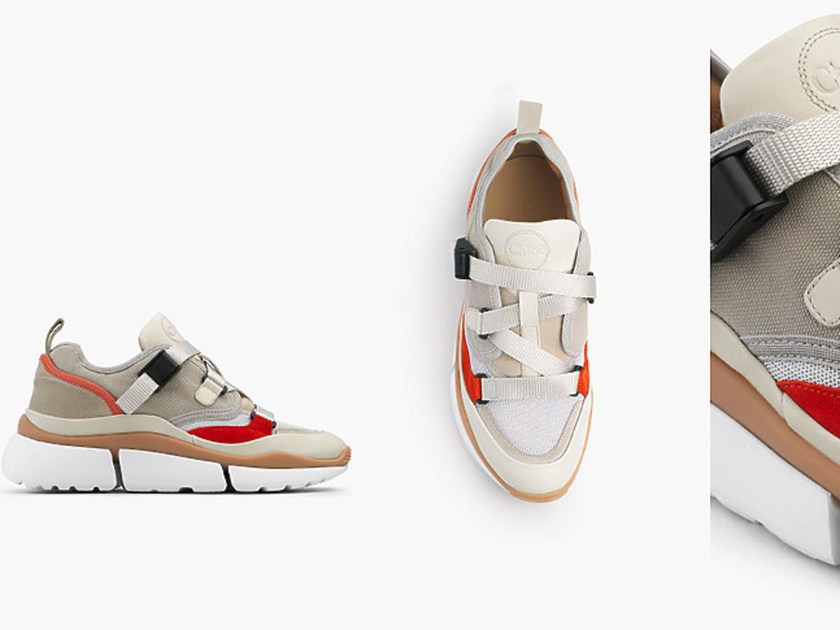 Sneakersy Chloe Anny Lewandowskiej