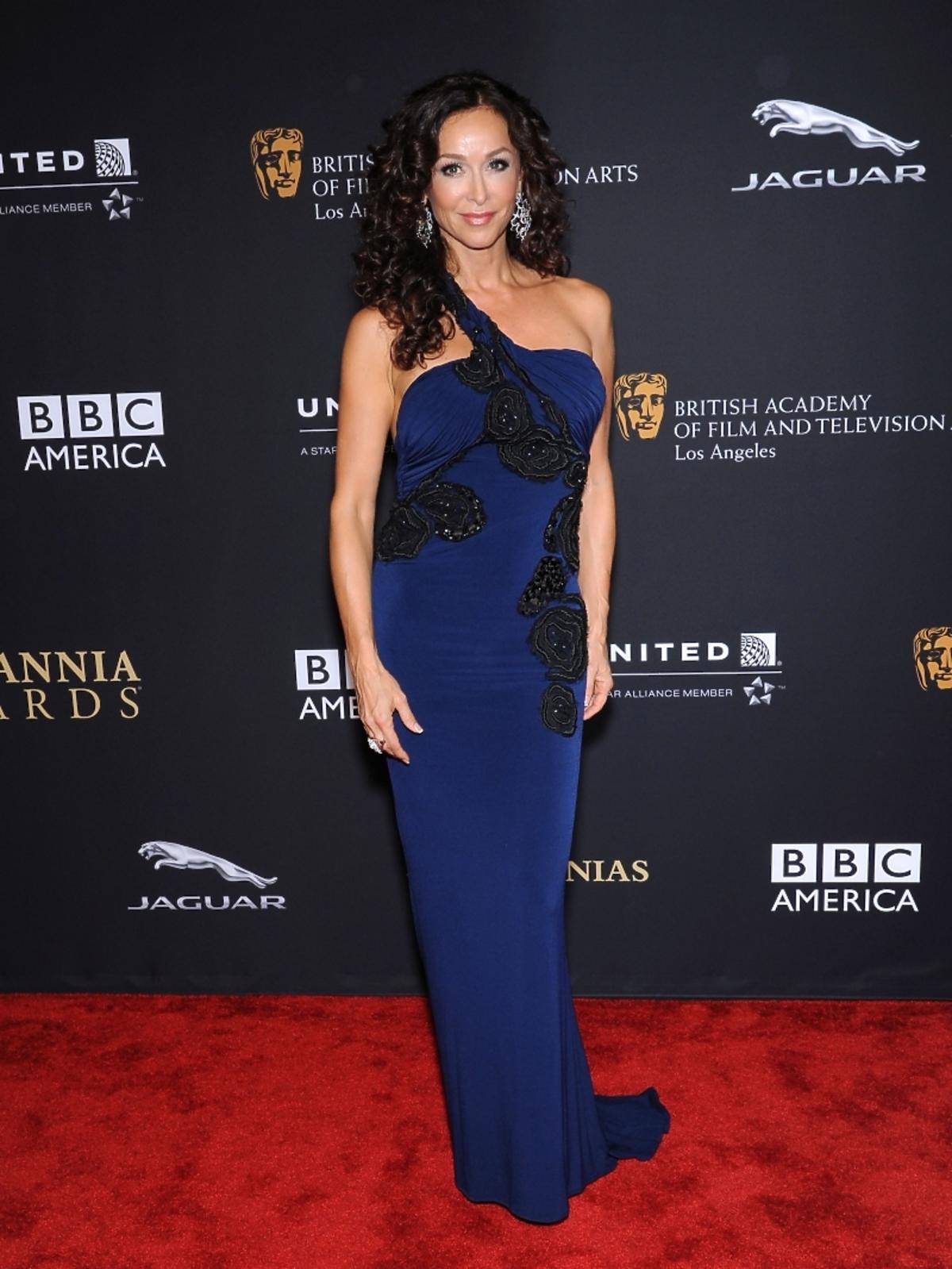 Sofia Milos na rozdaniu nagród BAFTA