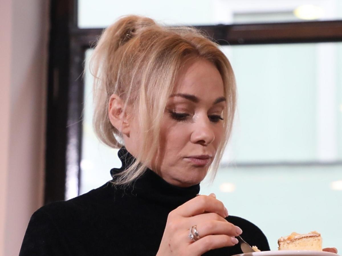 Sonia Bohosiewicz i ciastko