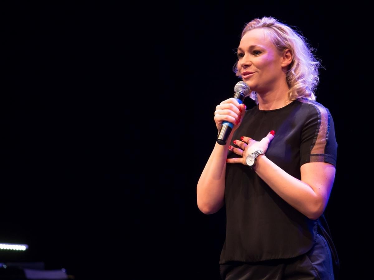 Sonia Bohosiewicz na koncercie fundacji