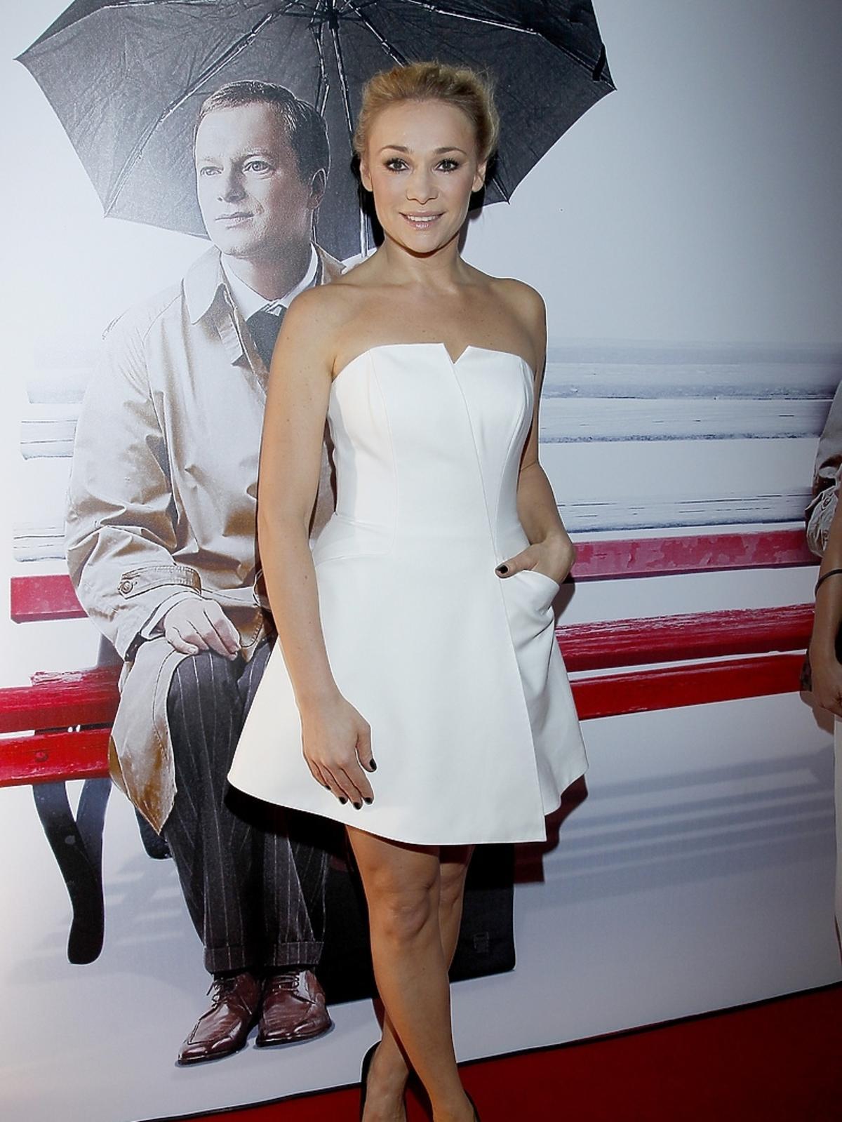 Sonia Bohosiewicz na premierze filmu Obywatel
