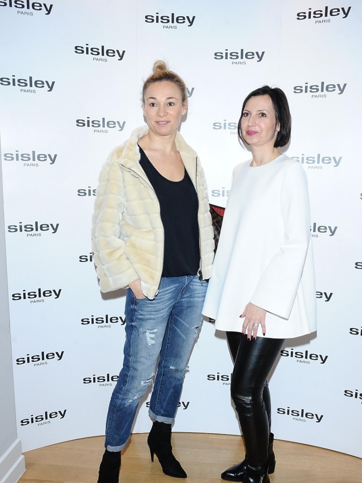 Sonia Bohosiewicz prezentacji marki Sisley