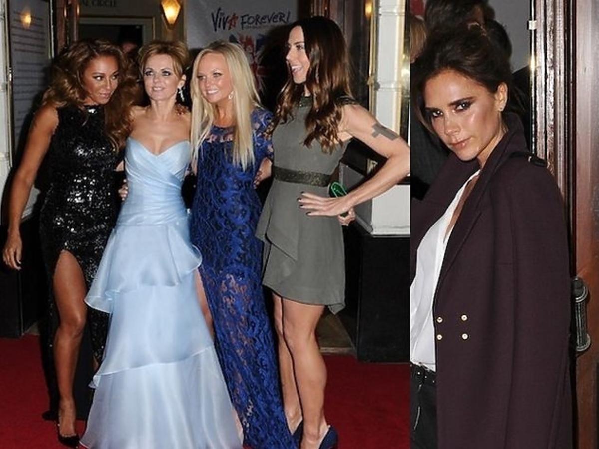 "Spice Girls razem na premierze musicalu ""Viva Forever!"""