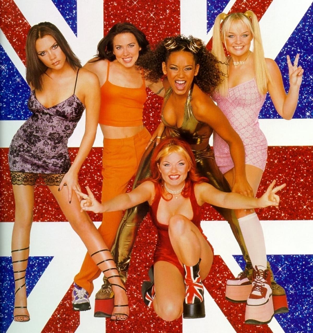 Spice Girls w SpiceWorld