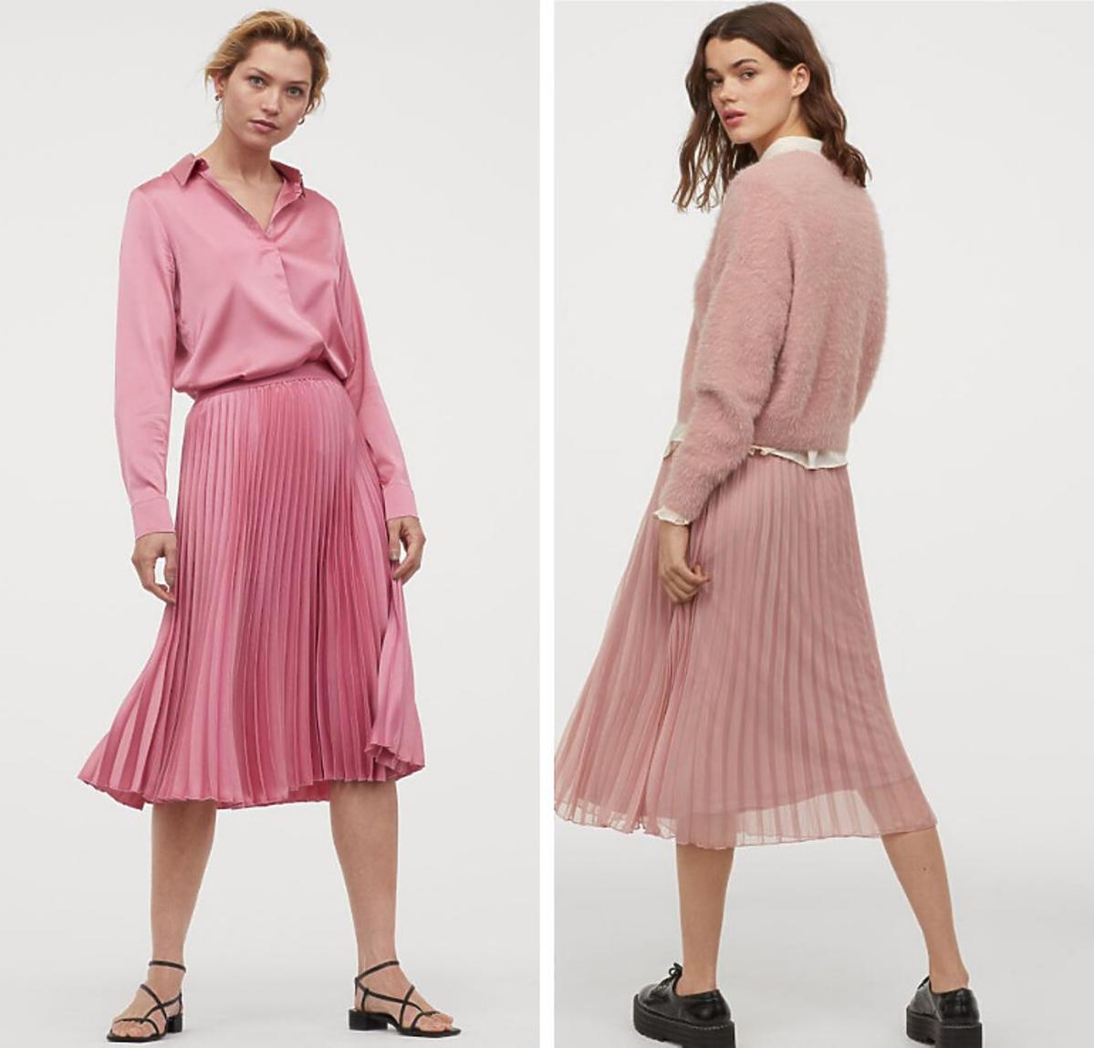 Spódnice plisowane H&M