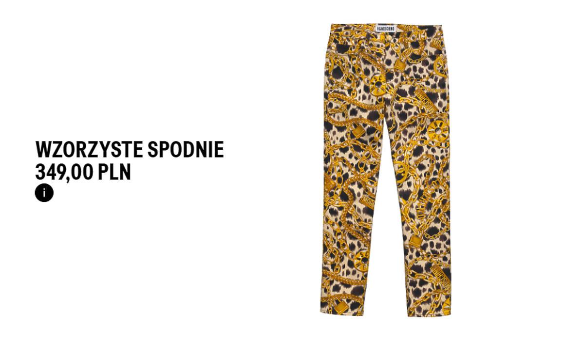Spodnie Moschino[TV] H&M
