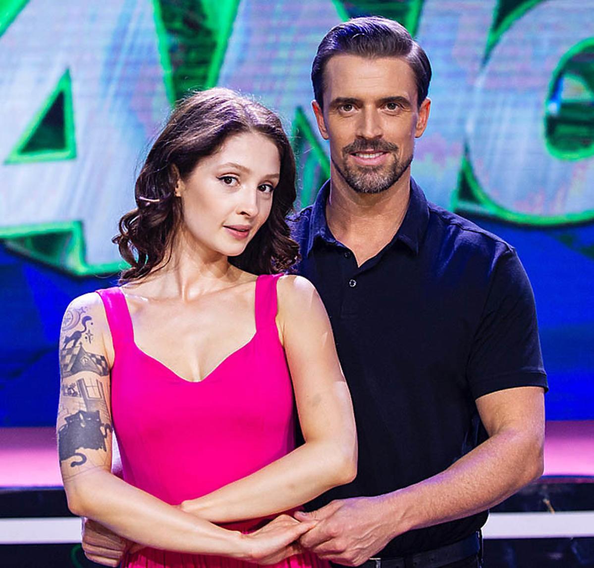 Stanisław Karpiel-Bułecka i Anna Matysiak w 4. odcinku Dance Dance Dance