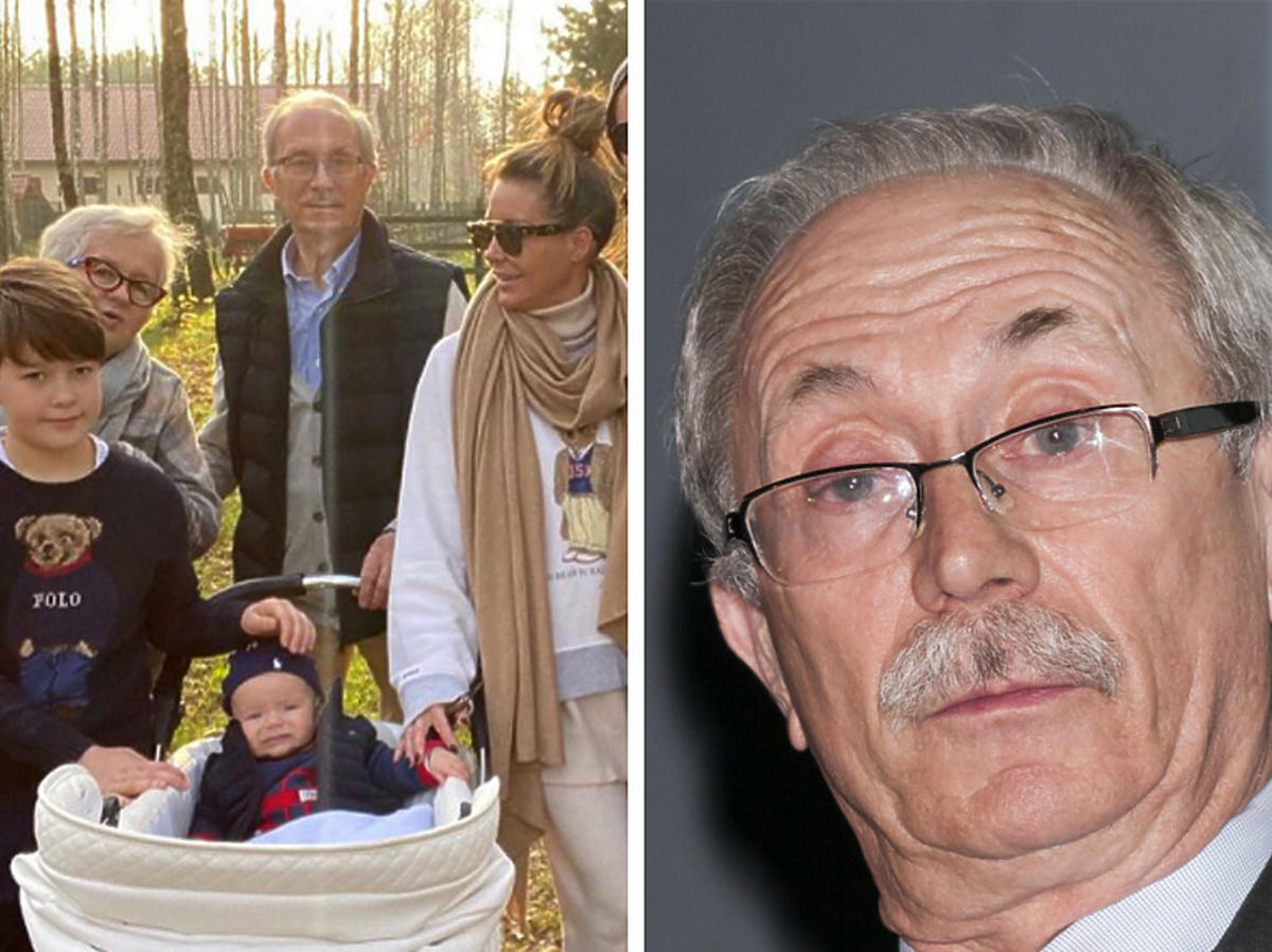 Stanisław Kostrzewski, a obok zdjęcie rodzinne