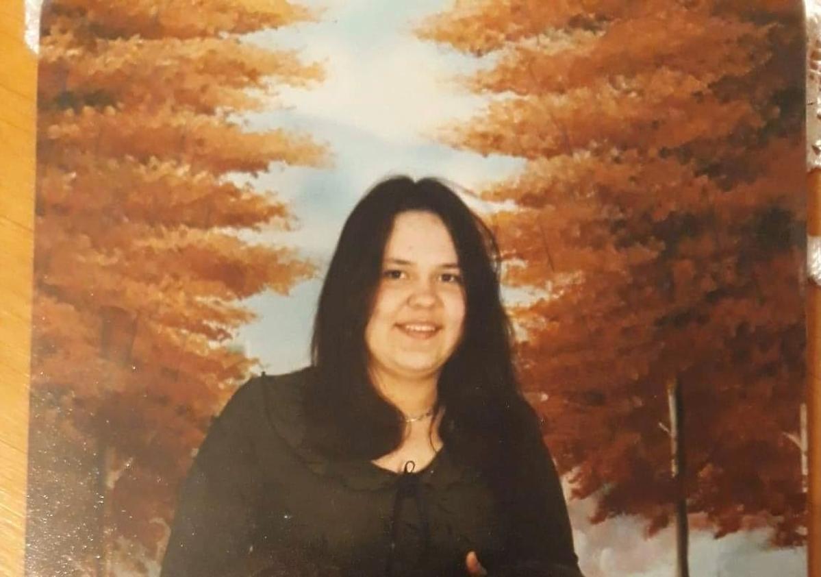 Stare zdjęcie Sylwii Bomby z liceum
