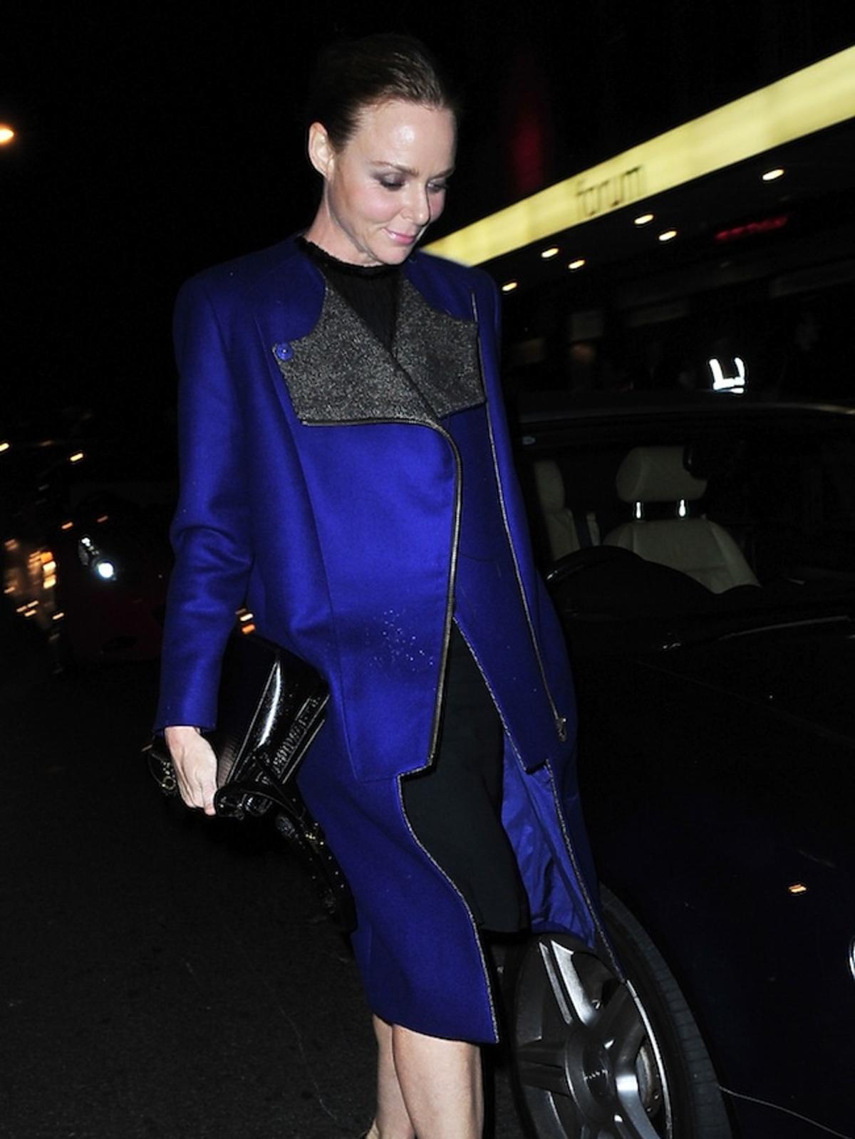 Stella McCartney na koncercie Rihanny w Londynie