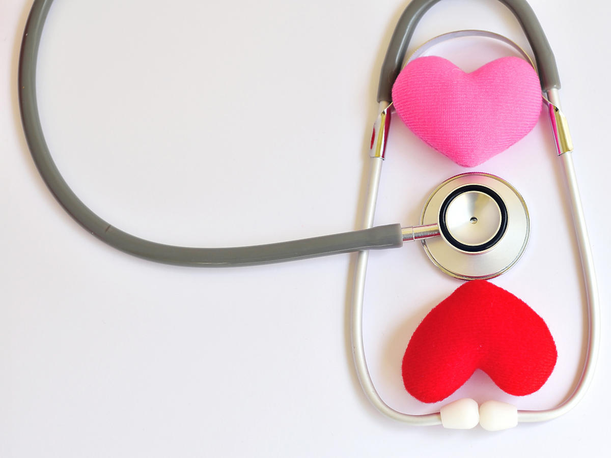stetoskop i serce