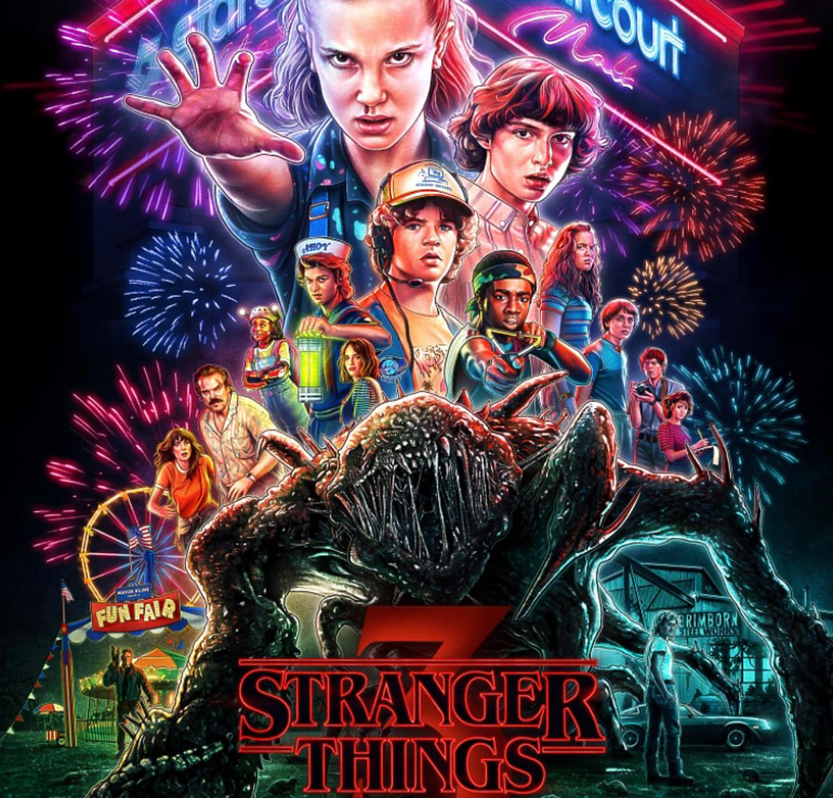 Stranger Things nowy plakat 3. sezonu
