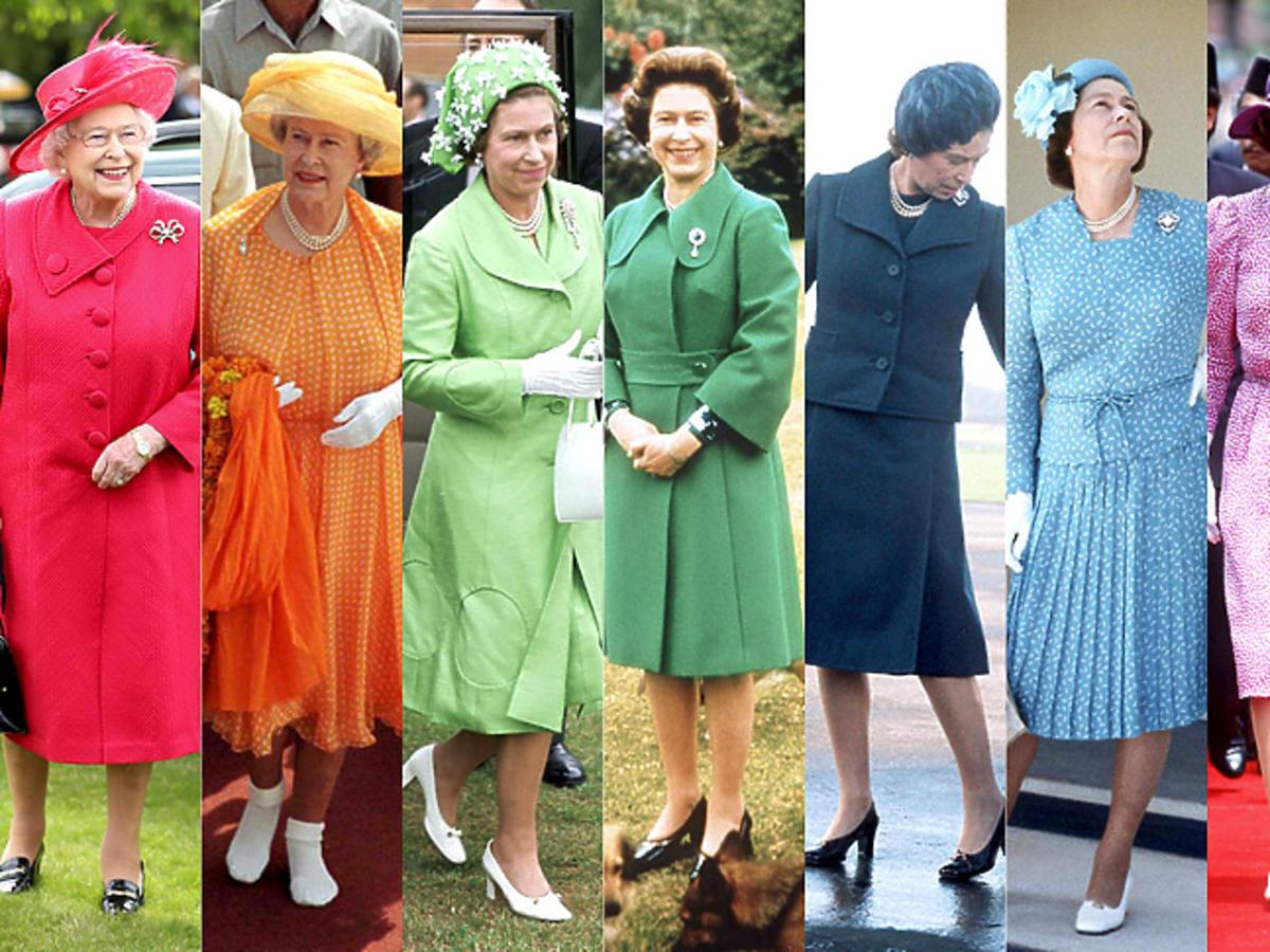Styl gwiazdy: królowa Elżbieta II
