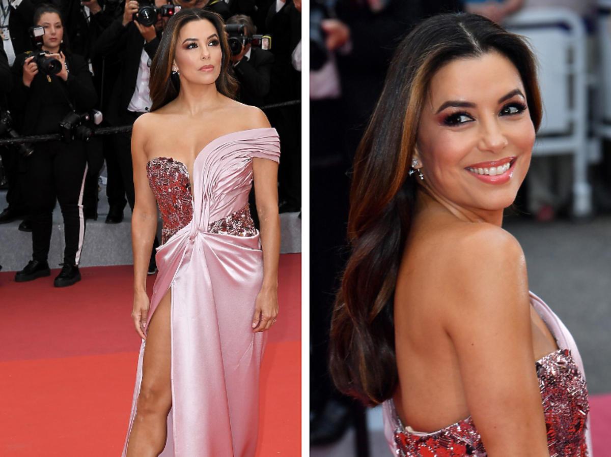 Stylizacja Longorii w Cannes