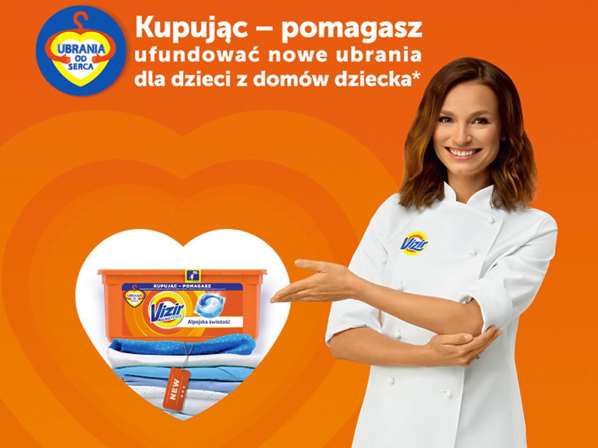 """Sukces 3. edycjiprogramu charytatywnego""""Ubrania od Serca"""""""
