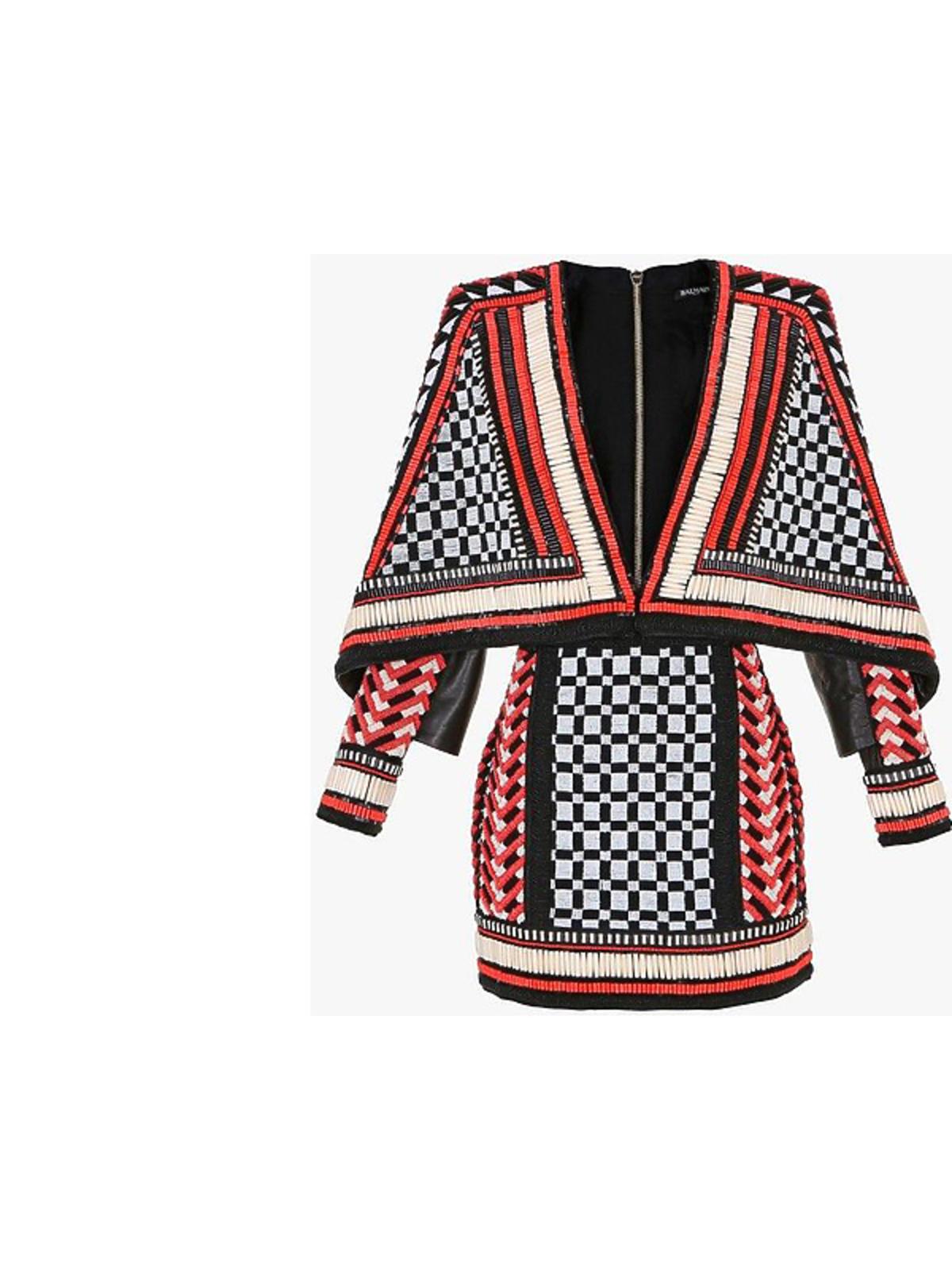 Sukienka Balmain, cena: ok. 50 tysięcy złotych