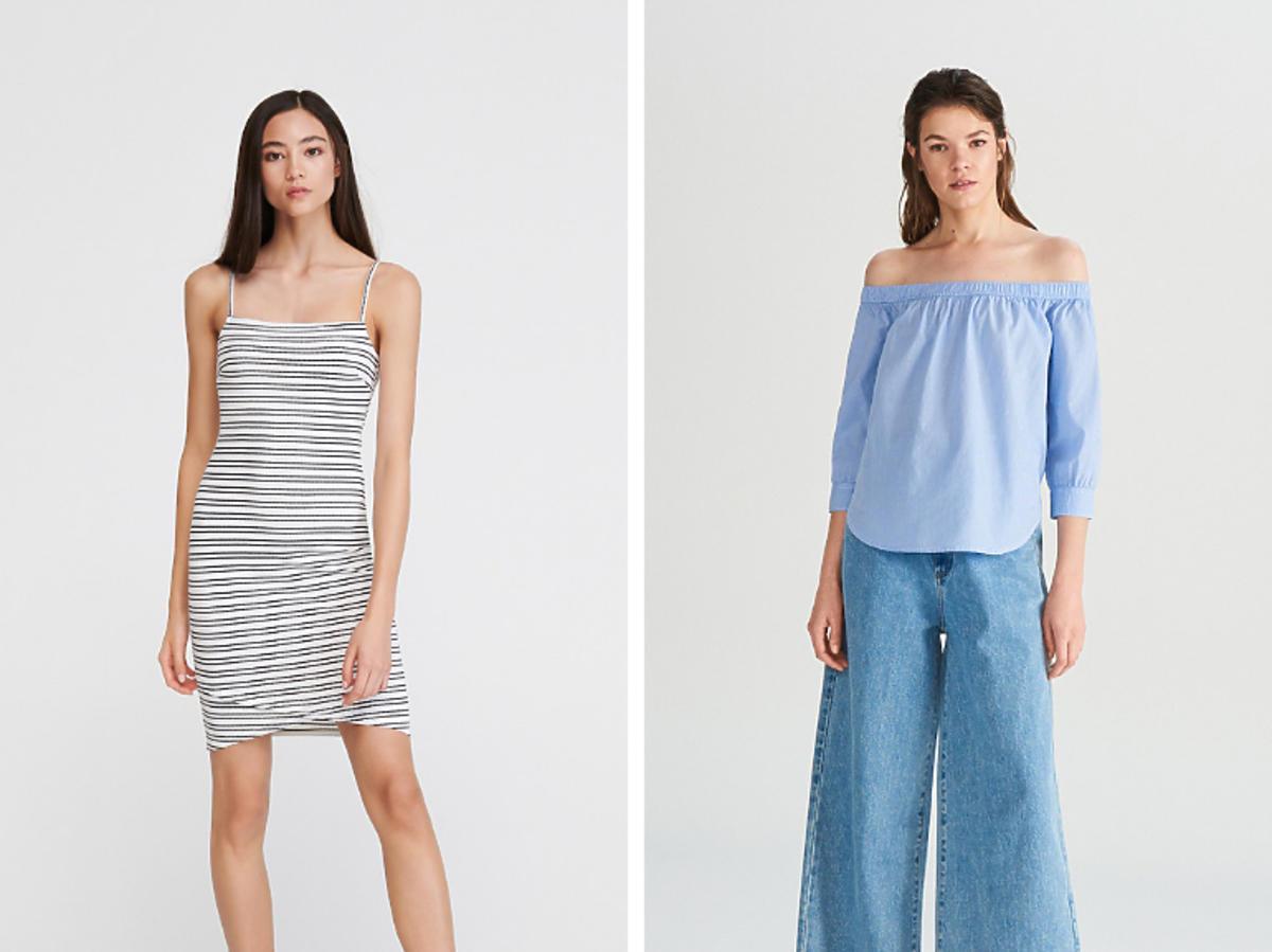 Sukienka bez rękawow H&M cena 24 zł