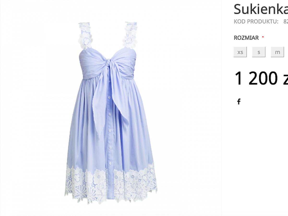 Sukienka Rozenek