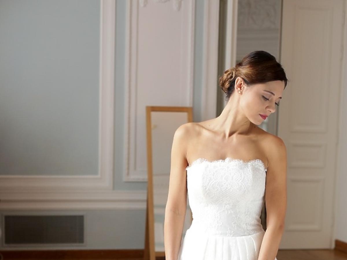 Sukienka ślubna Izy z M jak miłość