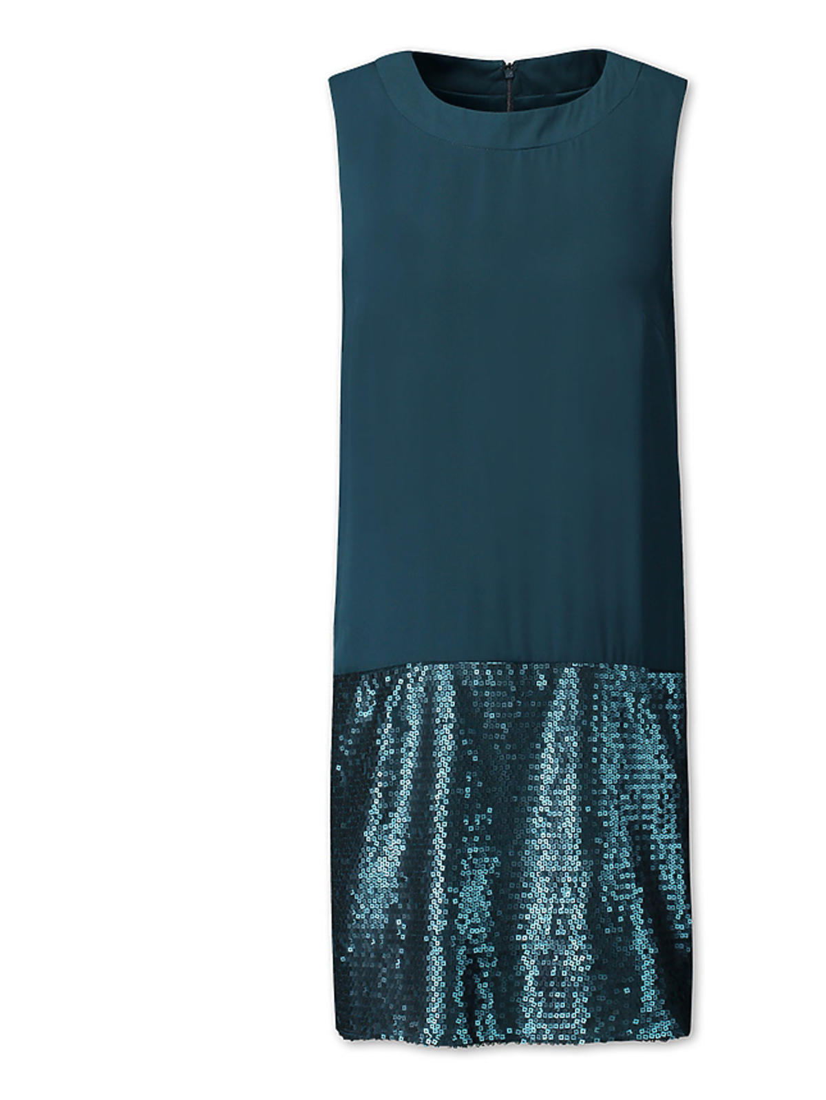 Sukienka szyfonowa z cekinami, C&A, przecniona z 129,00 zł na 90,30 zł