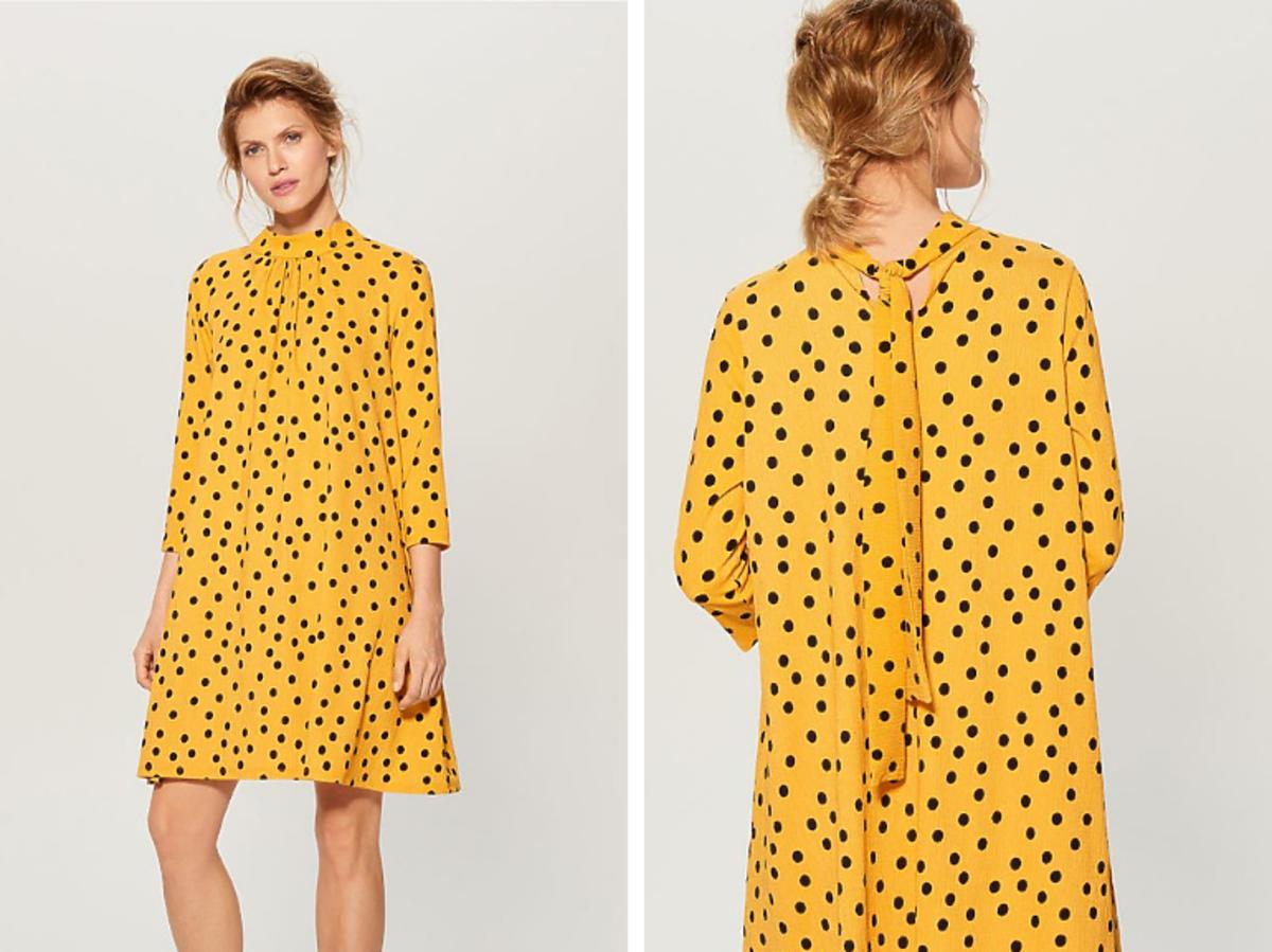 Sukienka w grochy Reserved cena 119 zł