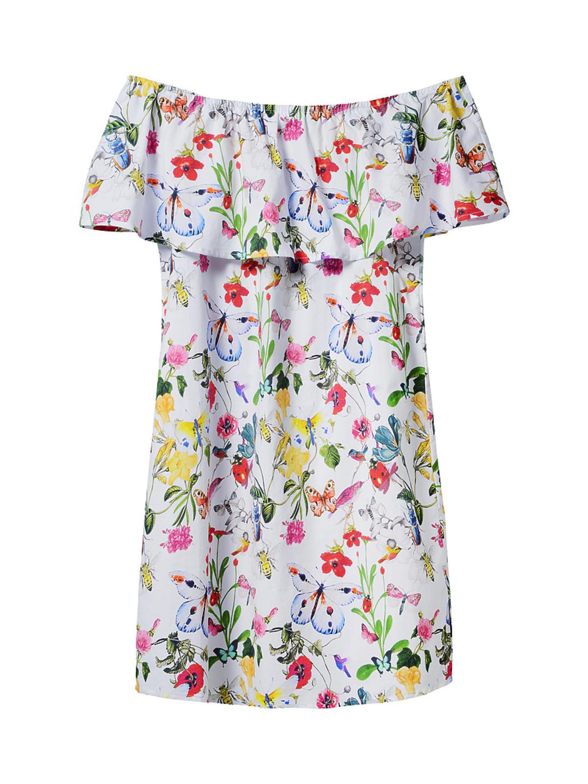 Sukienka w motyle, Mohito, 119,90 zł