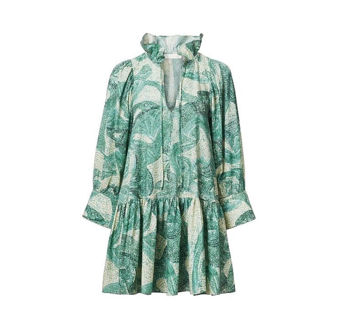 Sukienka  w palmy H&M Conscious Exclusive
