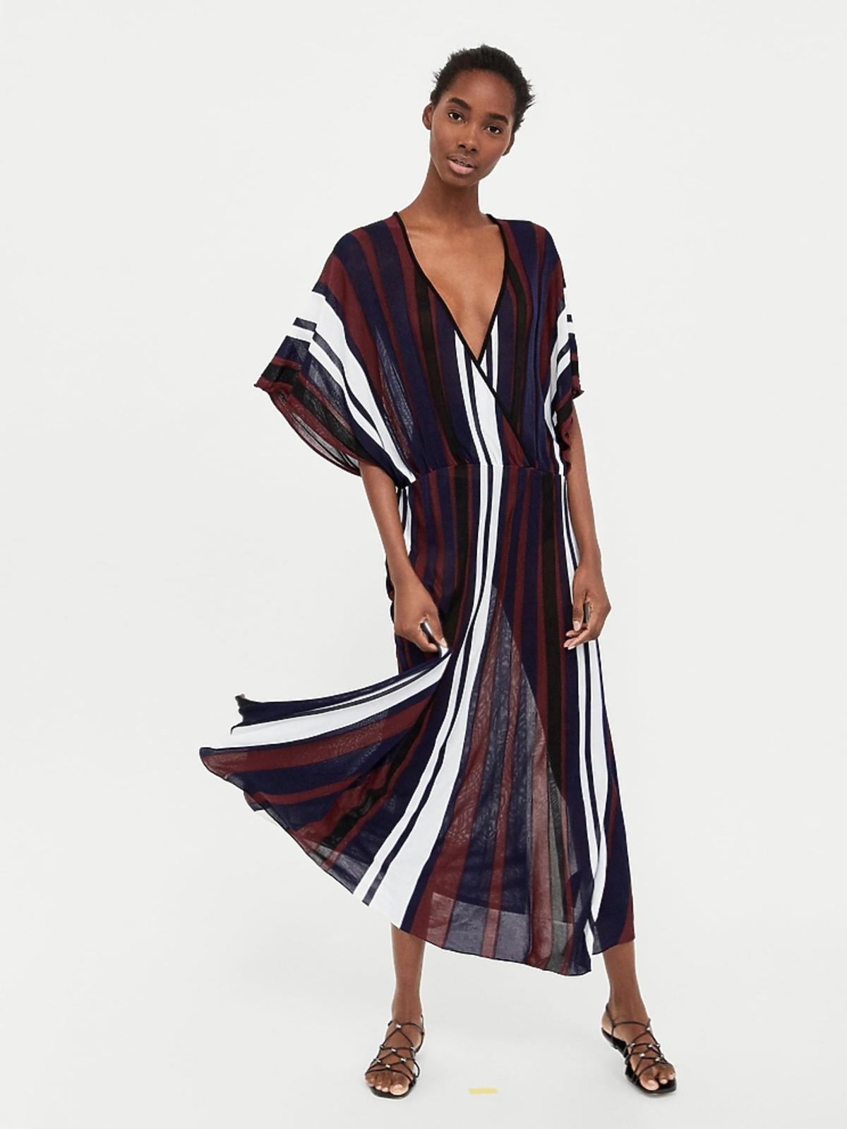 Sukienka w pionowe paski, 99,90 zł