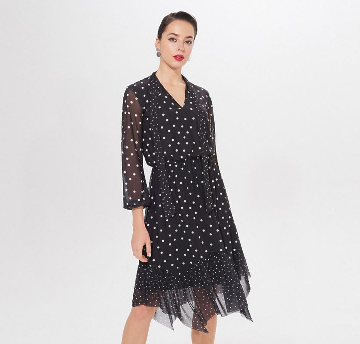 Sukienka w stylu Anny Lewandowskiej z Mohito za 79,99 zł