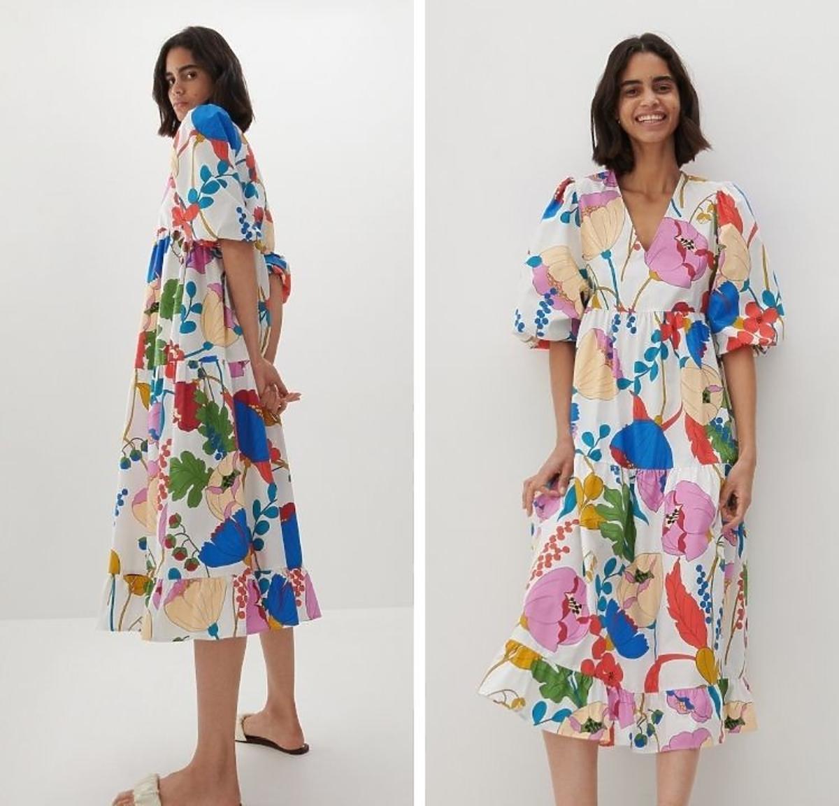 Sukienka w stylu lewej z Reserved