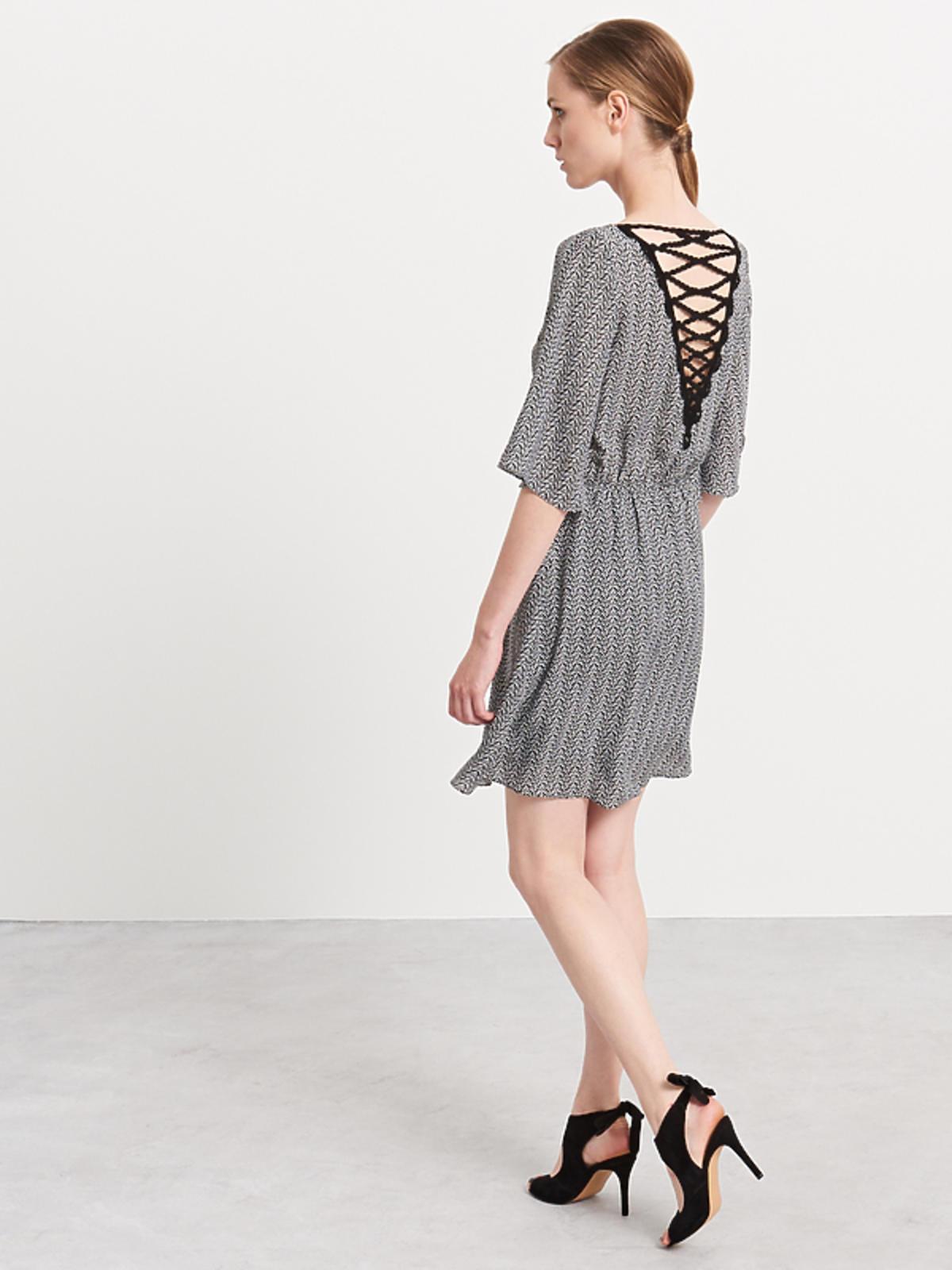 Sukienka z odkrytymi plecami, Reserved, przeceniona z 119,90 zł na 69,99 zł