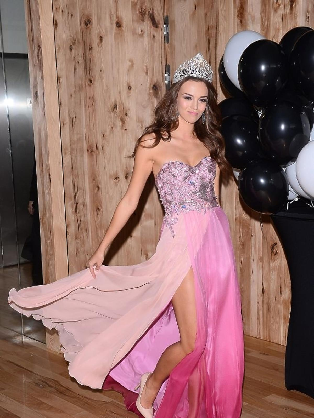 Sukienki Pauliny Krupińskiej na Miss Universe 2013