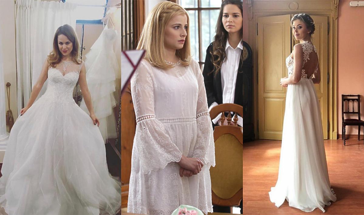 Sukienki ślubne z seriali