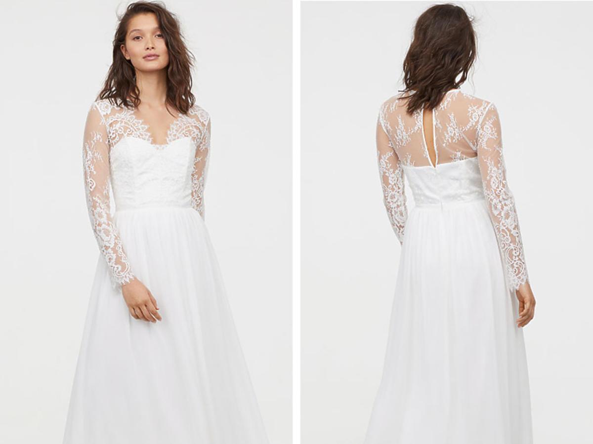 Suknia H&M koronkowa 799,99 zł