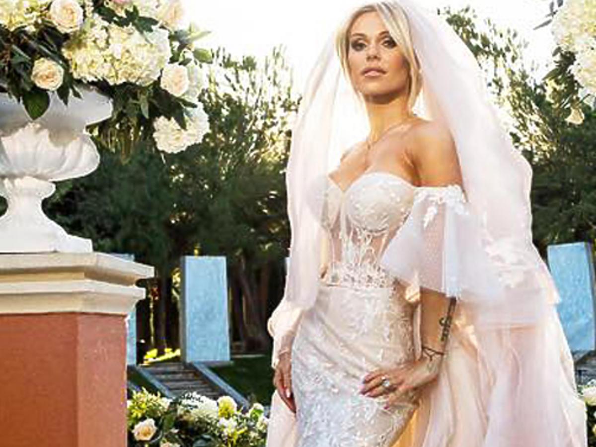 Suknia ślubna Dody