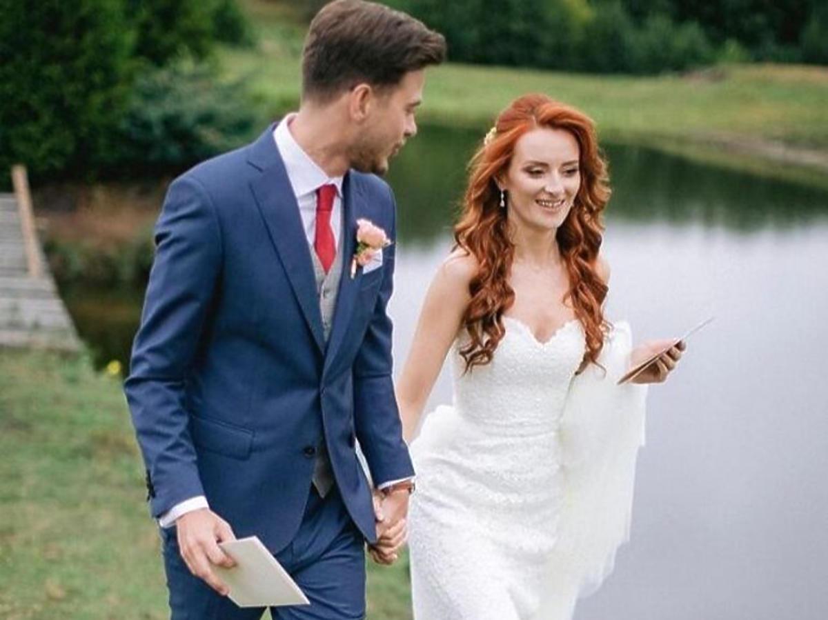 Suknia ślubna Iwony Cichosz
