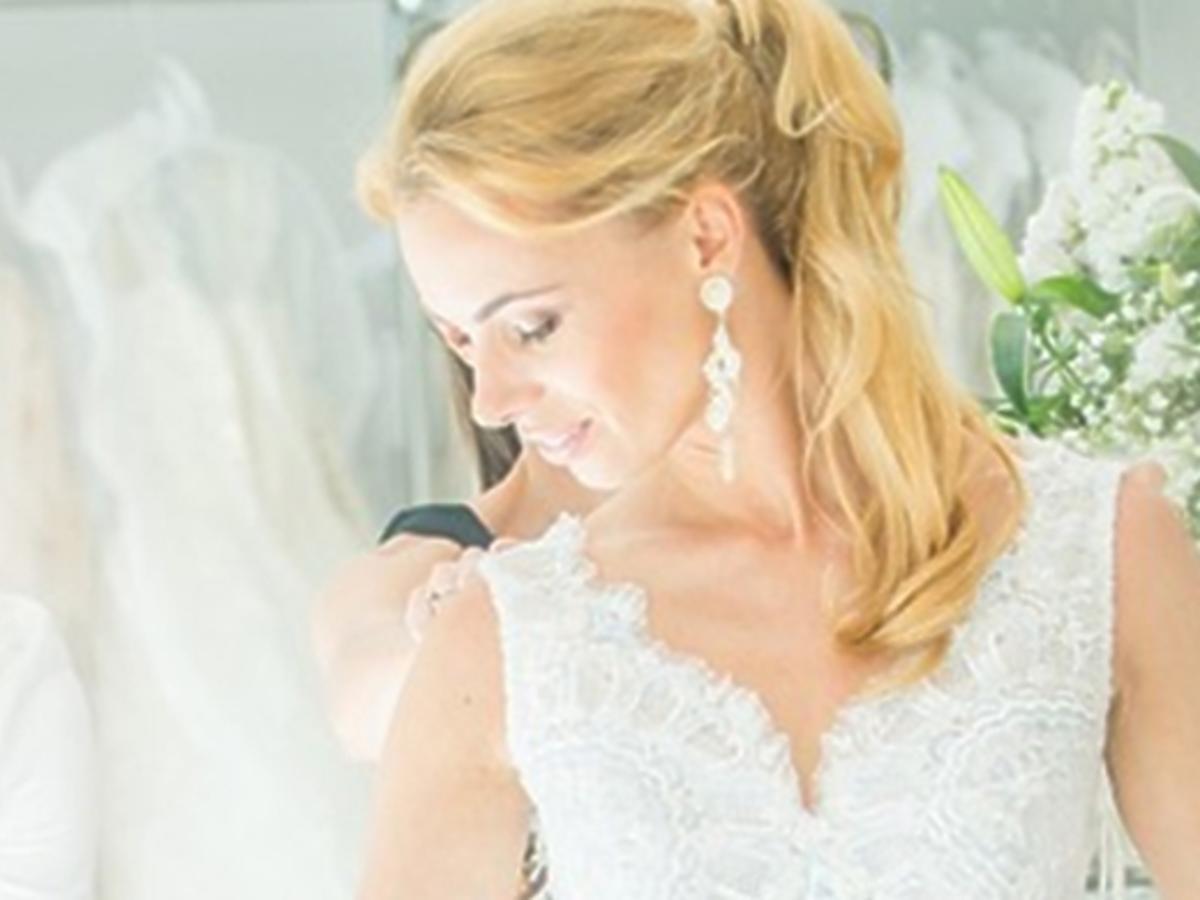 Suknia ślubna Izabeli Janachowskiej. Jak wygląda suknia ślubna Izabeli Janachowskiej. Ślub Izabeli Janachowskiej